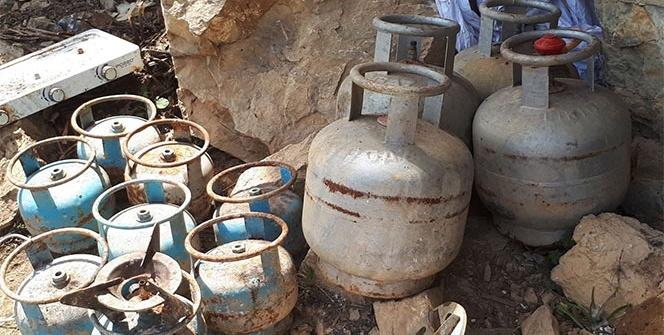 Tunceli'de biri 9 odalı 6 sığınak ve mağara imha edildi