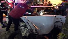 Orduda trafik kazası: 2si ağır 3 yaralı
