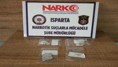 Ispartada uyuşturucu operasyonu: 4 gözaltı