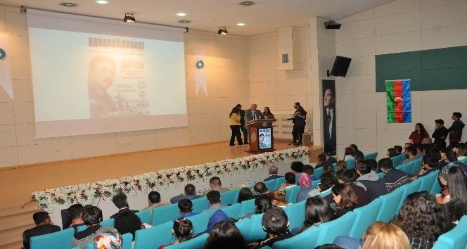 Niğde Barosundan  Diasporaya Karşı Ses Can Azerbaycana Nefes konferansı