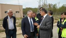 Başkan Akın, Keretli ile ziyaretlerde bulundu