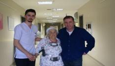 Omurgası kırılan hastanın 9 aylık çilesi bitti
