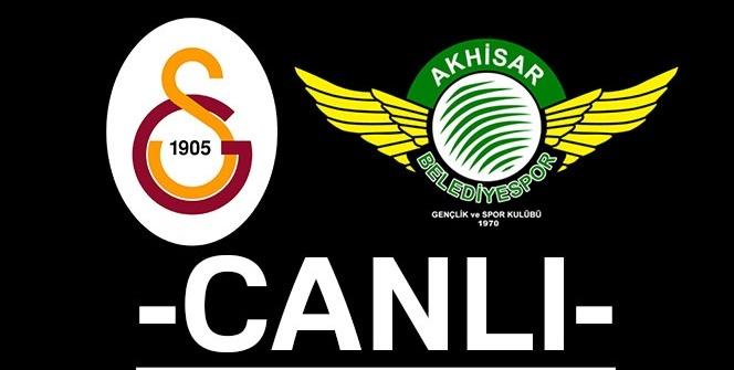 Galatasaray Akhisar canlı