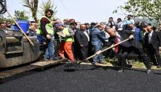Karadağ Kanyonu asfalt yola kavuşuyor