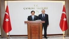 Japonyanın Ankara Büyükelçisi Miyajima Çankırıda