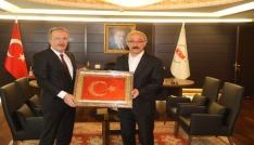 Rektör Uzun, Kalkınma Bakanı Elvanı ziyaret etti