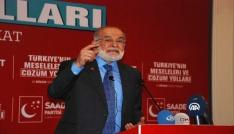 SP Lideri Karamollaoğludan erken seçim açıklaması