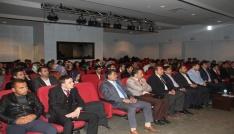Malazgirtte Hz. Peygamberin Eğitim Metodu ve Yöntemi konferansı