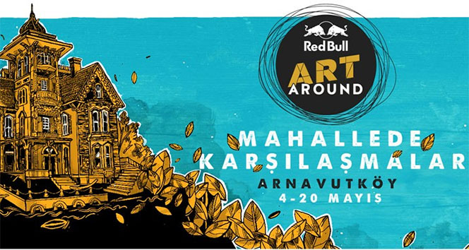 Red Bull Art Around Arnavutköy'ü renklendirecek