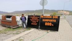 Mermerciden mezar taşı için yüzde 50 kampanya