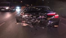 Sakaryada iki otomobil çarpıştı: 1 yaralı