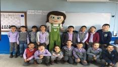 80 okulda 8 bin öğrenci Tomurcukla buluştu