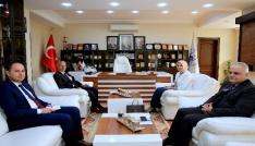 İl Milli Eğitim Müdüründen Başkan Dişliye ziyaret