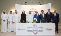 Katar'la finans merkezi için stratejik imza