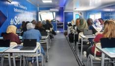 Türk Telekom Eğitim tırı Elazığda