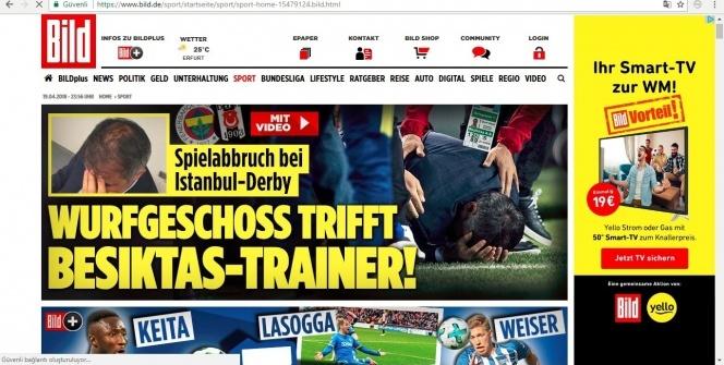 Derbi, Avrupa basınında manşetlerde