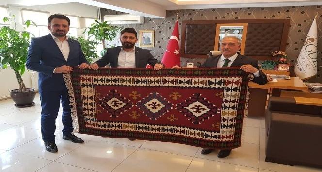 TÜGVA Genel Başkan Yardımcısından Başkan Özkana Ziyaret
