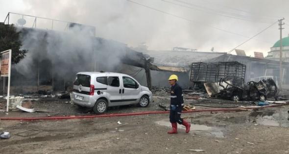Iğdır'da tüp patladı! 4 ölü