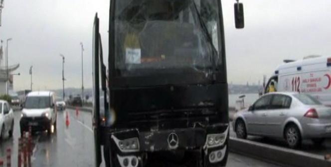 İçişleri Bakanlığı'nın programı kapsamında İstanbul'a gelen öğrenciler kaza yaptı! 19 yaralı