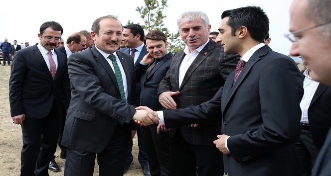Fırat Kalkanı ve Zeytin Dalı Harekâtı Şehitleri için hatıra ormanı oluşturuldu