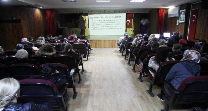 İlkokul öğrencilerine ve velilere çölyak hastalığı hakkında seminer verildi