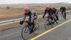 Bisiklet takımları kamp için Erciyesi tercih ediyor