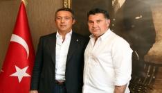Ali Koçtan Başkan Mehmet Kocadona ziyaret