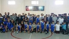 Sökede okullar arası basketbol heyecanı yaşandı
