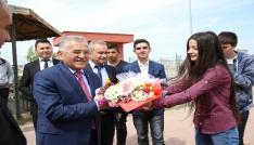 Büyükkılıç, Şehit Saim Çelik Mesleki ve Teknik Anadolu Lisesinin Kariyer Günleri Konuğu Oldu
