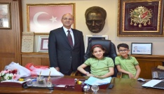 Başkanlık koltuğu çocukların oldu