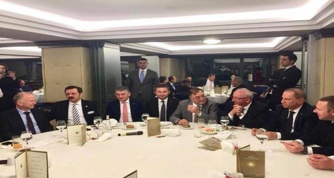 Başkan Albayrak, TOBBun tanışma yemeğine katıldı