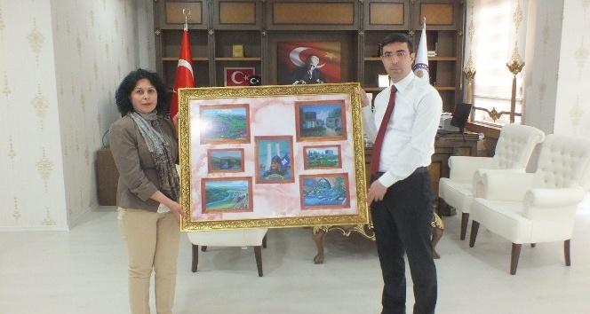 Müdür Acaroğlundan Kaymakam Kırlıya ziyaret