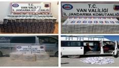 Vanda 15 bin 150 paket kaçak sigara ele geçirildi