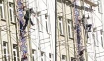 Yer: İstanbul... İnşaat işçileri canlarını hiçe saydı