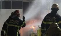 Gaz dolum fabrikasında yaşanan patlama paniğe neden oldu