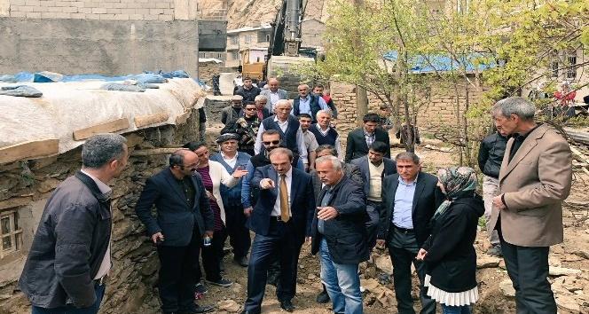 Hakkari Gazide imar yolu açılıyor