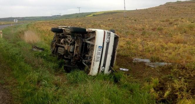 Tekirdağda trafik kazası : 2 yaralı