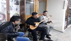 Sanatçılara müzik ziyafeti
