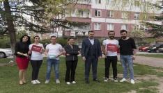 Seda t Kılınç İnşaat AŞ sokak hayvanlarını sahipsiz bırakmadı