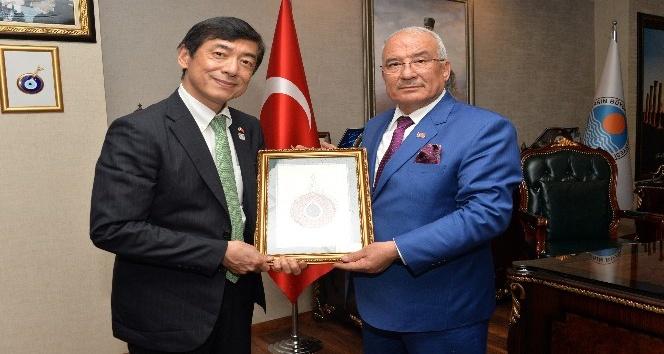 Japonya Ankara Büyükelçisi Akio Miyajima, Kocamazı ziyaret etti