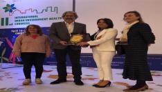 2. Uluslararası Şehir Çevre Sağlık Kongresinde Söke Belediyesine ödül