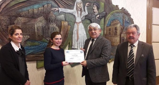 Karsta kadın girişimciler sertifikalarını aldı