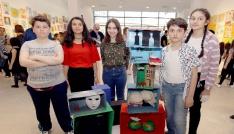 Çankayalı çocukların eseri Sanat Bianelinde
