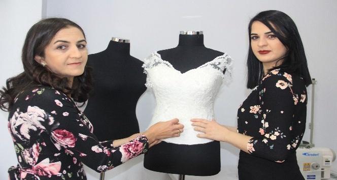 Antalyalı moda tasarımcısı Hakkaride işyeri açtı
