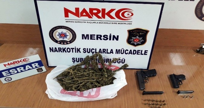 Mersinde uyuşturucu operasyonu: 4 gözaltı