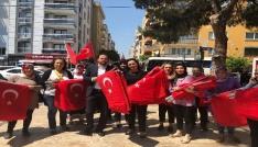 AK Parti Efelerden bayraklı ziyaret
