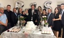 Ünlü Gazeteci Serhan Türk ile Diş Hekimi Yrd.Doç.Dr Berna Kayıkçı evliğe ilk adımını attılar