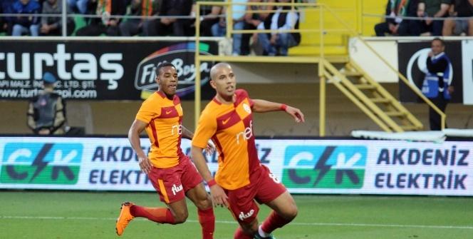 Alanyaspor Galatasaray maçından kareler