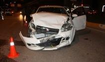 Elazığ'da trafik kazası: 4 yaralı!