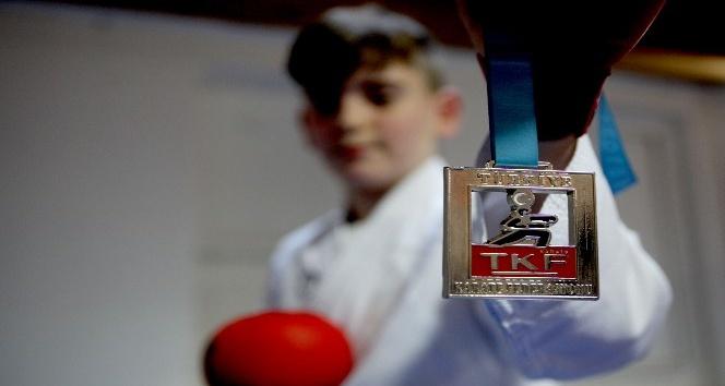 Halk Eğitim Merkezinin açtığı karate kursundan Türkiye Şampiyonluğuna